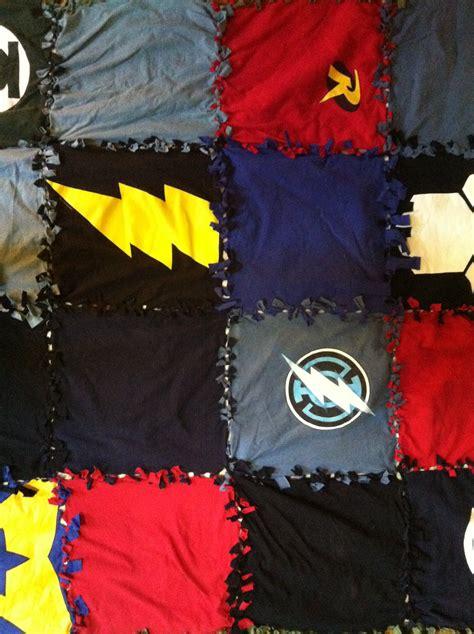 t shirt material comforter 3 easy no sew blankets kovi