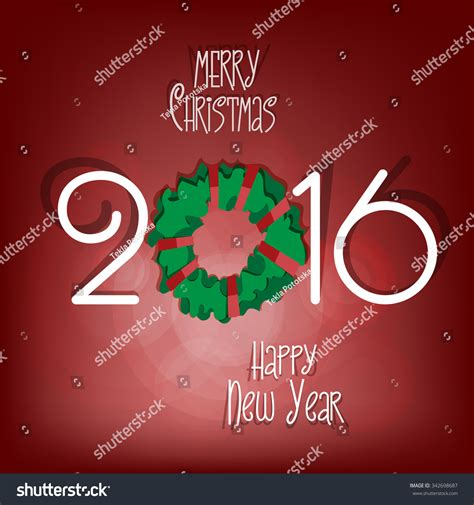 new year cut out merry and happy new year 2016 paper cut out