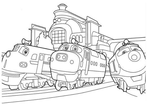 chuggington coloring train pages free printable chuggington coloring pages for kids