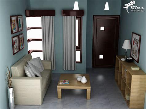 gambar desain interior ruang tamu rumah minimalis type  design arsitektur