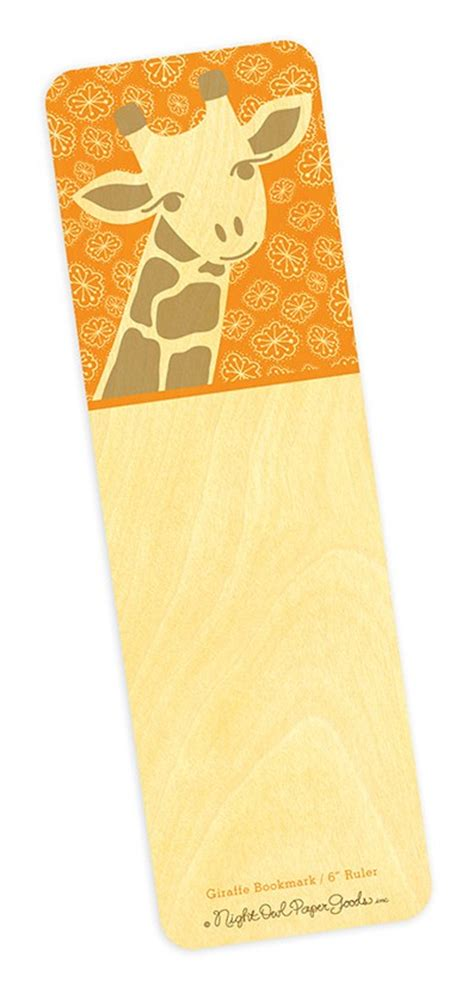 printable giraffe bookmarks giraffe bookmark for cake ideas and designs