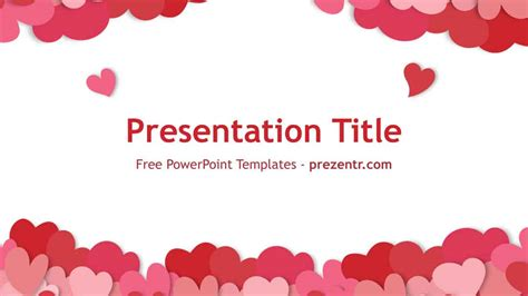 valentines day templates free happy s day powerpoint template prezentr