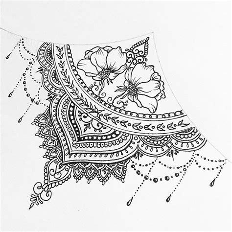 sternum mandala tattoo www pixshark com images