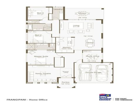 modern one story floor plans single story house designs floor plans single story modern
