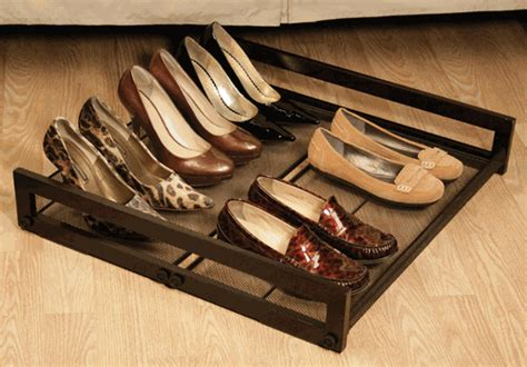 underbed shoe storage with wheels simplicity organizing obsession storage on wheels
