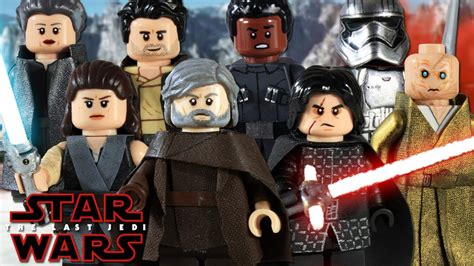Custom Wars 2 custom lego wars the last jedi minifigures