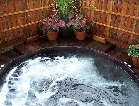hot tub surrounds  steps custom leisure products