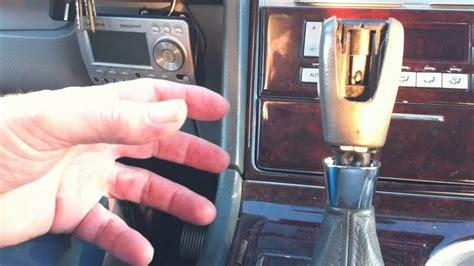 lincoln navigator aviator shifter  stuck won