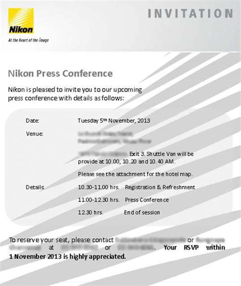 National Conference Invitation Letter Media Invitation Letter For Press Conference Invitation Conference De Presse Imagesodawa