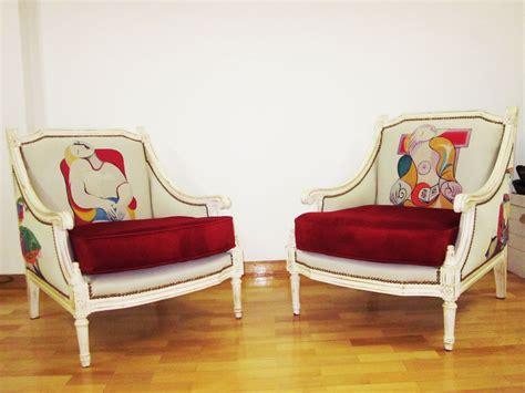 telas sillones sillones luis xv creaci 243 n estares tapizados originales