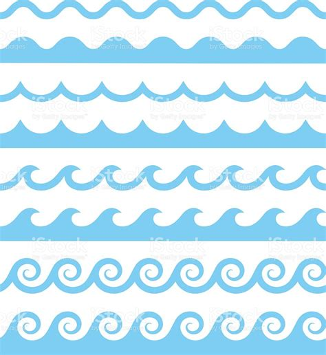 water pattern svg vector water waves patterns stock vector art more images