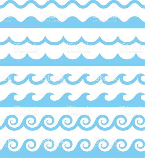water patterns vector water waves patterns stock vector art 579149782