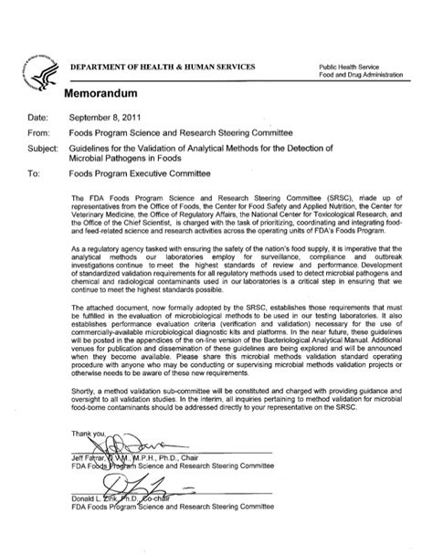 Letter Of Agreement For Travel Contoh Protokol Validasi Metode Analisis Mikrobiologi 3