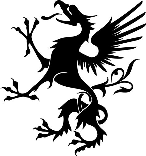 dragon tattoo vector free vector dragon art clipart best