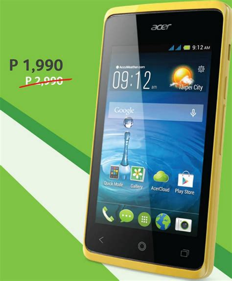 acer mobile price list acer smartphones price drop promo price and specs