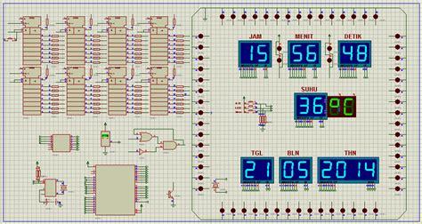 membuat jam digital dengan avr membuat jam digital dilengkapi dengan thermometer www