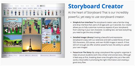 free online storyboard creator the library voice just look what you can create with