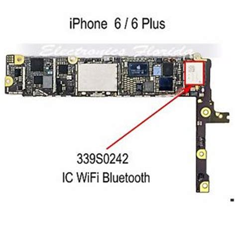 wifi bluetooth ic 339s0242 part replacement for iphone 6 6plus b587