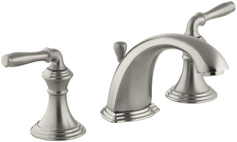 B And K Faucets by Faucet K 394 4 Bn In Brushed Nickel By Kohler