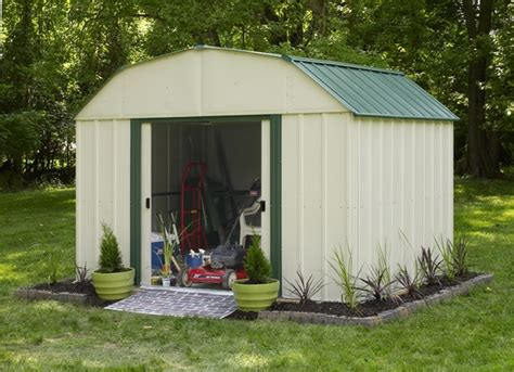 outdoor storage shed with floor