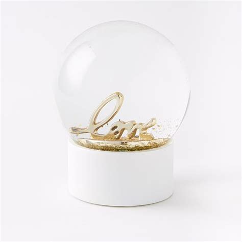 light up snow globe led light up snow globes small west elm