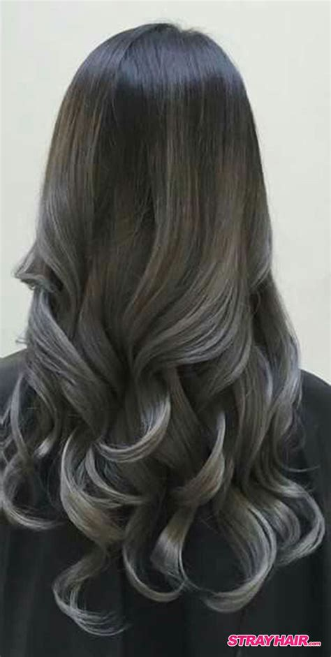 gray ombre hair process 25 best ideas about gray balayage on pinterest gray