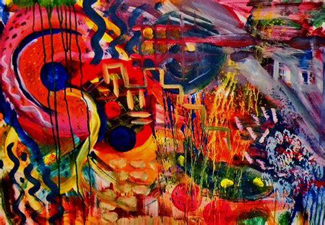 Harga Seni Abstrak Abstraction White free photo painting modern abstract free