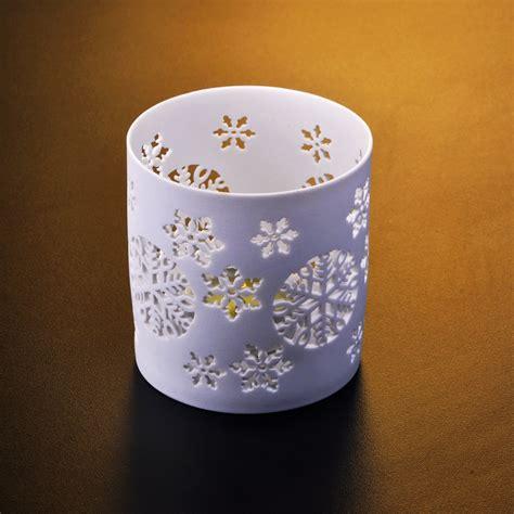 Lilin Bentuk bentuk yang berbeza pemegang lilin seramik