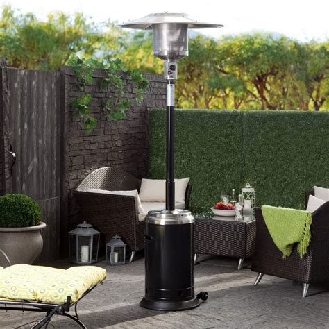 Bernzomatic Patio Heater 2 Bernzomatic Brushed Nickel Bernzomatic Patio Heater