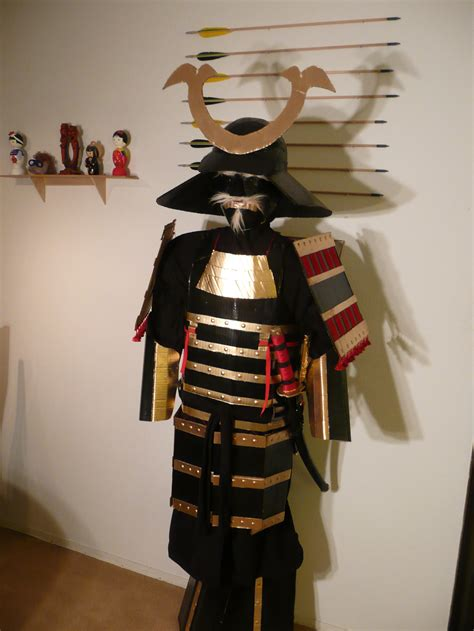 How To Make A Samurai Helmet Out Of Paper - cardboard samurai armor by makinstuffoutofstuff on deviantart