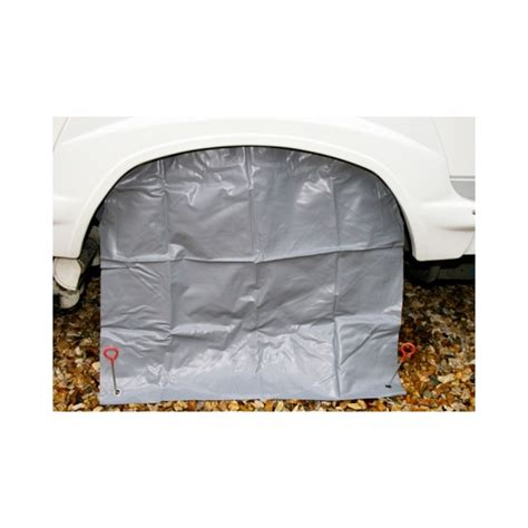 Motorhome Awning Skirt by Motorhome Single Wheel Cover Grey Caravan Stuff 4 U