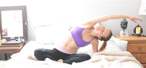 morning stretches in bed kat loves kale plant powered fabulous