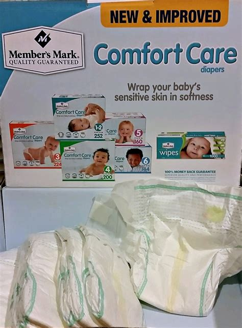 comfort care save money and time with members mark comfort care diapers