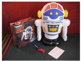 andy the android andy the android by radio shack the robots web site