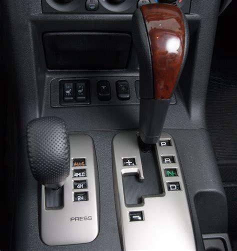 transmission control 1993 mitsubishi pajero interior lighting mitsubishi s super select 4x4 system explained practical motoring