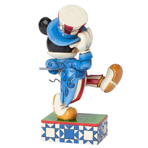yankee doodle mickey spangled banner your wdw store disney figurine traditions by jim shore