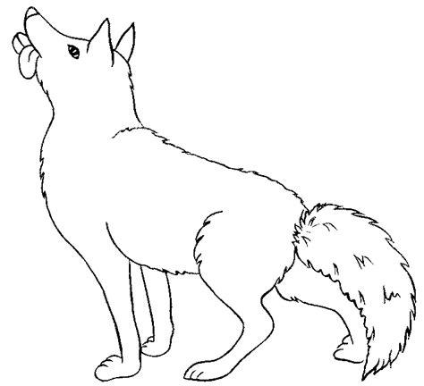 Coloriage Loup Les Beaux Dessins De Animaux 224 Imprimer