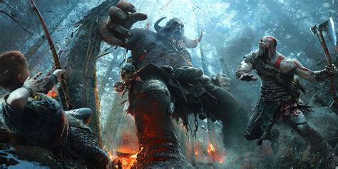 god of war il film hear kratos new voice in god of war for ps4 screen rant