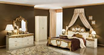 biaggio ivory gold bedroom collection classic bedroom