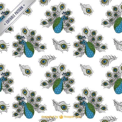 peacock pattern vector peacock pattern vector free download