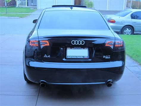 06 07 08 audi a4 s4 led tail lights dash z racing blog