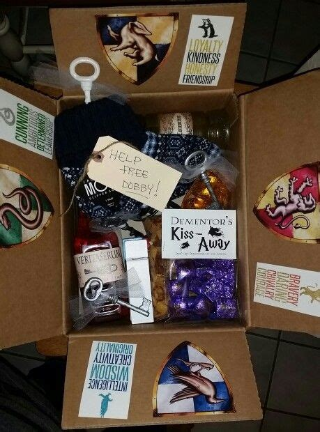 best gifts for harry potter fans 25 best ideas about care package boyfriend on pinterest