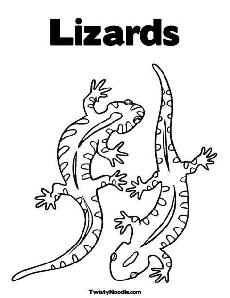 coloring pages reptiles coloring home