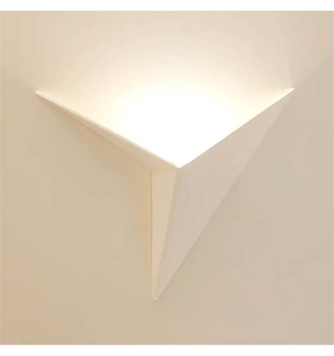 led applique applique murale led design coloris blanc
