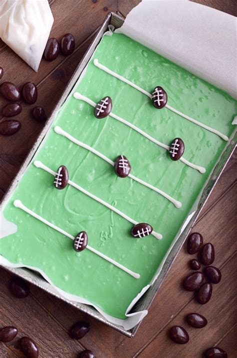 how to make a football field in your backyard how to make football field fudge something swanky
