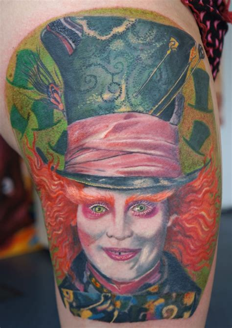 mad hatter tattoo mad hatter by graynd on deviantart