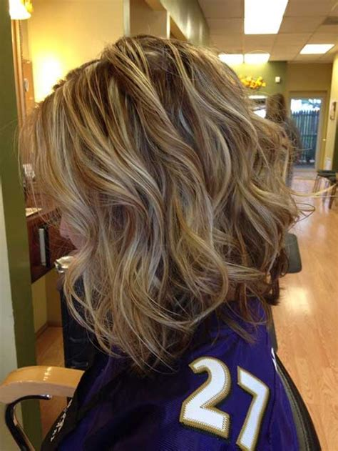 highlighted hair with brown underneath layered pictures blonde highlights short hair the best short hairstyles