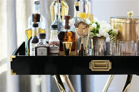 style  perfect bar cart decorilla