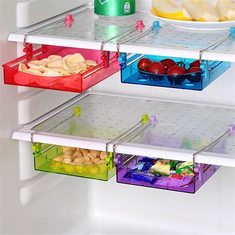 Kitchen Refrigerator Organizer Honana Multipurpose Fridge Storage Sliding Drawer