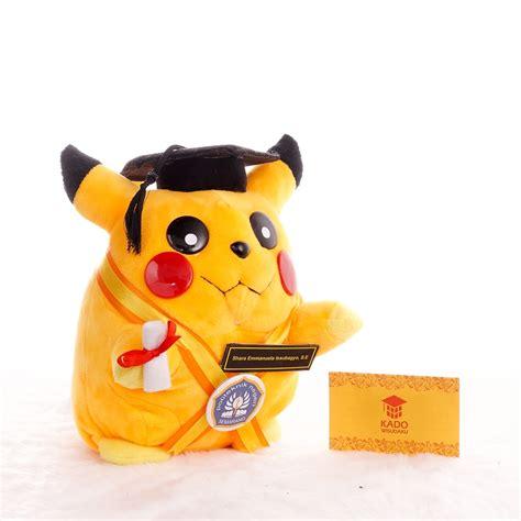 Boneka Wisuda 2016 jual boneka wisuda pikachu kado wisudaku
